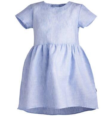 Sukienka z krótkim rękawem dla dziewczynki 9-13 lat D81H518_2