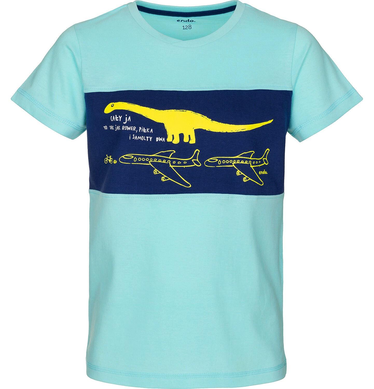 Endo - T-shirt z krótkim rękawem dla chłopca 9-13 lat C91G531_2