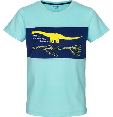 T-shirt z krótkim rękawem dla chłopca 9-13 lat C91G531_2