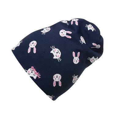 Endo - Czapka dla dziecka, deseń w króliki N04R001_1 17