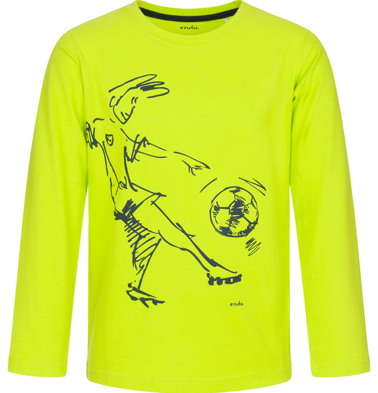 Endo - T-shirt z długim rękawem dla chłopca 9-13 lat C92G522_2
