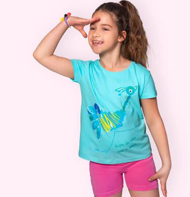 Endo - Krótkie legginsy dla dziewczynki, różowe, 2-8 lat D06K001_5 17