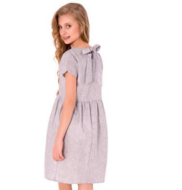 Endo - Sukienka z krótkim rękawem dla dziewczynki 9-13 lat D81H519_1