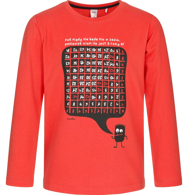 Endo - T-shirt z długim rękawem dla chłopca 3-8 lat C92G100_1