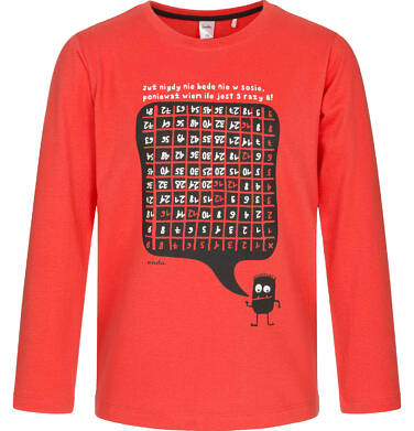 Endo - T-shirt z długim rękawem dla chłopca 3-8 lat C92G100_1,1