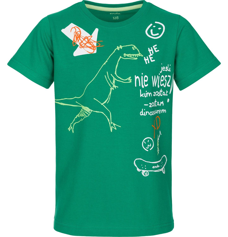 Endo - T-shirt z krótkim rękawem dla chłopca 9-13 lat C91G532_1