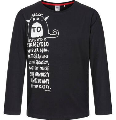 Endo - T-shirt z długim rękawem dla chłopca 9-13 lat C92G601_1