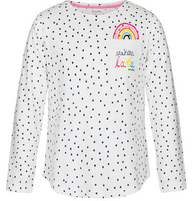 Bluzka z długim rękawem dla dziewczynki 3-8 lat D91G003_1