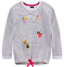 Bluza typu tunika przez głowę  dla dziewczynki 4-8 lat D71C017_1