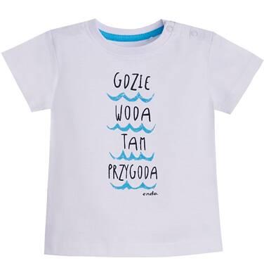Endo - T-shirt z krótkim rękawem dla dziecka 0-3 lata N81G012_1