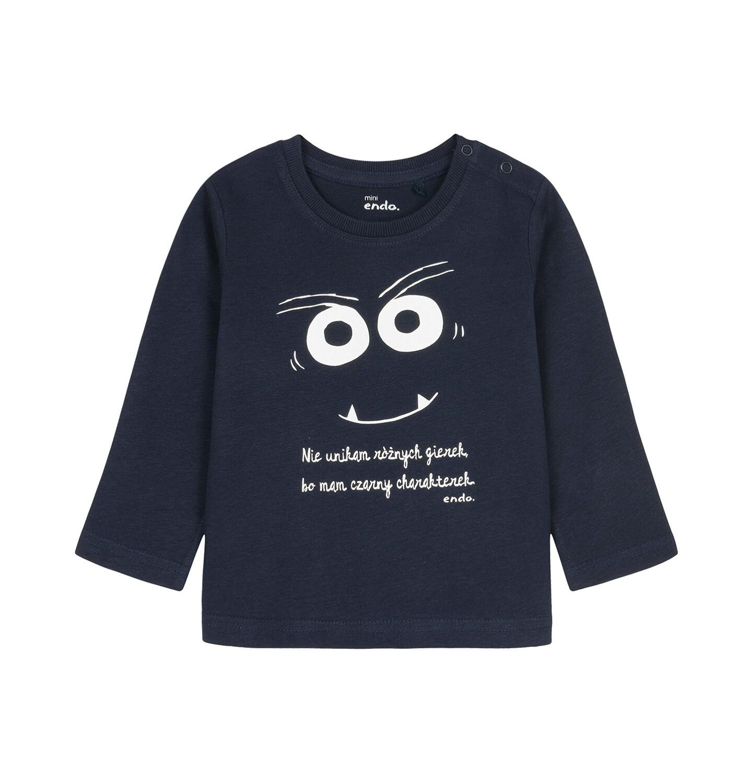 Endo - T-shirt z długim rękawem dla dziecka 0-3 lata N92G042_2