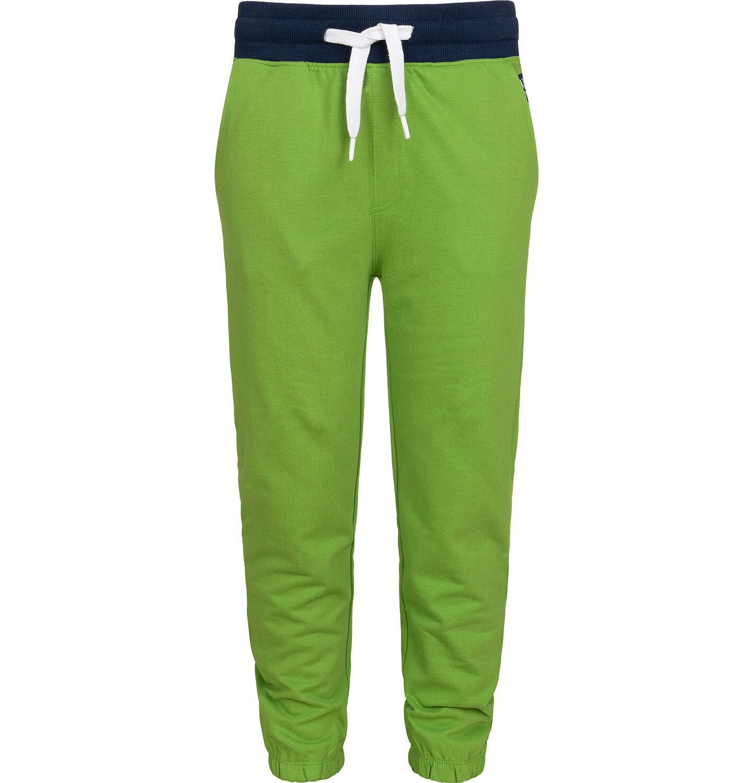 Endo - Spodnie dresowe dla chłopca, zielone, 9-13 lat C05K014_1