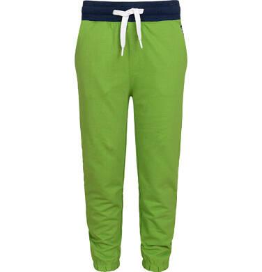 Endo - Spodnie dresowe dla chłopca, zielone, 9-13 lat C05K014_1 15