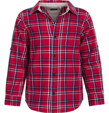 Endo - Koszula flanelowa w kratę dla chłopca 9-13 lat C82F503_2