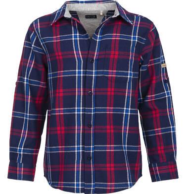 Endo - Koszula flanelowa w kratę dla chłopca 9-13 lat C82F503_3