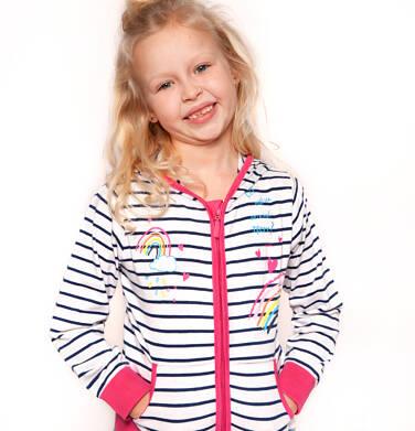 Endo - Bluza rozpinana z kapturem dla dziewczynki 3-8 lat D91C006_1