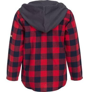 Endo - Koszula flanelowa z kapturem dla chłopca 3-8 lat C82F008_1