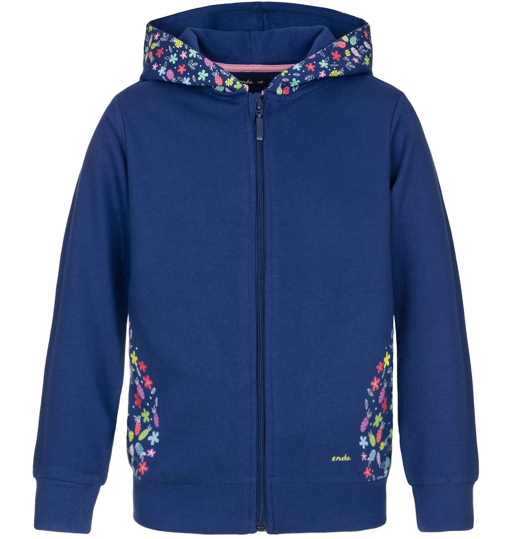 Endo - Bluza rozpinana z kapturem dla dziewczynki 3-8 lat D91C008_1
