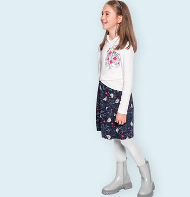 Sukienka z długim rękawem i kapturem, 9-13 lat D04H011_1