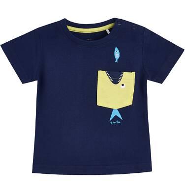 Endo - T-shirt z krótkim rękawem dla dziecka 0-3 lata N81G013_1