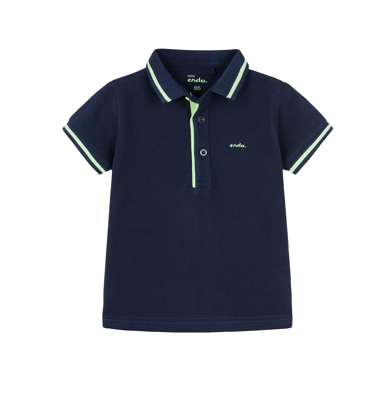 Endo - Koszulka polo z krótkim rękawem dla dziecka 0-3 lat N91G097_2