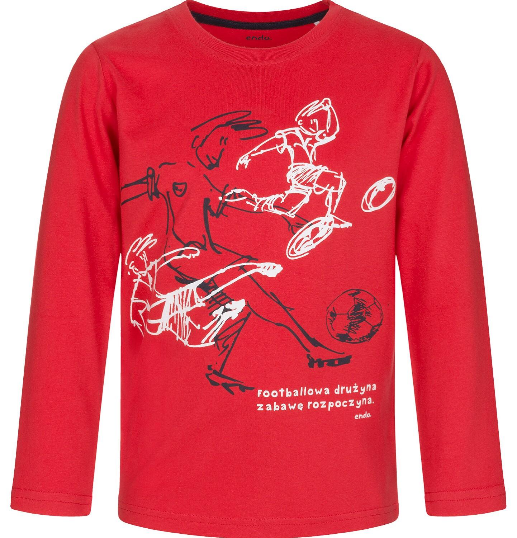 Endo - T-shirt z długim rękawem dla chłopca 9-13 lat C92G523_1