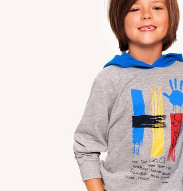 Endo - Bluza z kapturem dla chłopca 3-8 lat C92C006_1