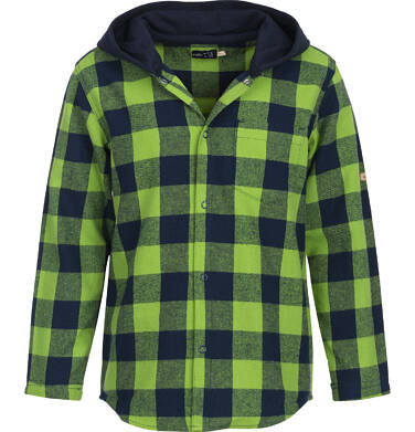 Endo - Koszula flanelowa z kapturem dla chłopca 9-13 lat C82F508_2