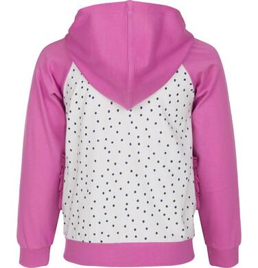 Endo - Bluza rozpinana z kapturem dla dziewczynki 9-13 lat D91C510_1