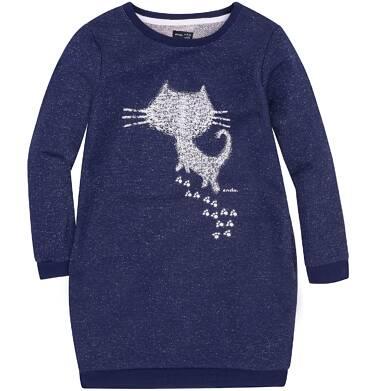 Endo - Sukienka o charakterze bluzy dla dziewczynki 3-8 lat D72H006_1