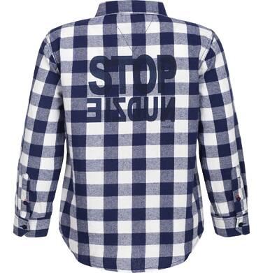Endo - Koszula flanelowa w kratę dla chłopca 9-13 lat C82F509_1