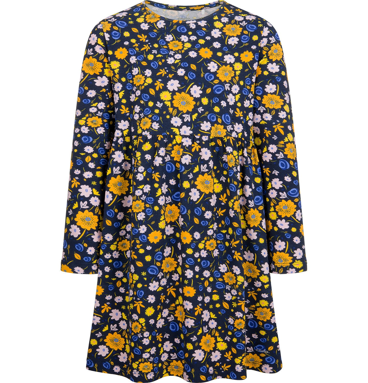 Endo - Sukienka z długim rękawem, kolorowy deseń, 2-8 lat D04H027_3