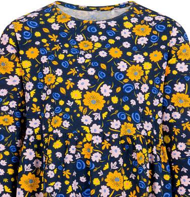 Endo - Sukienka z długim rękawem, kolorowy deseń, 2-8 lat D04H027_3 27