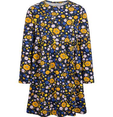 Endo - Sukienka z długim rękawem, kolorowy deseń, 2-8 lat D04H027_3 120