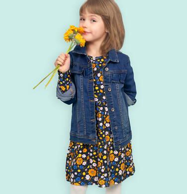Endo - Sukienka z długim rękawem, kolorowy deseń, 2-8 lat D04H027_3 28
