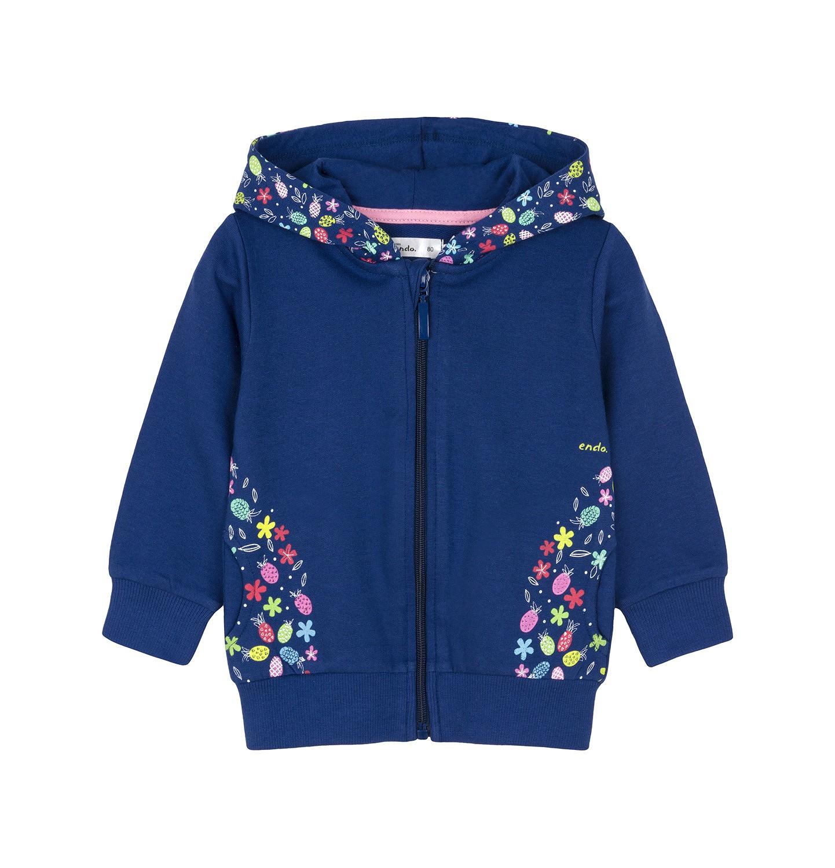 Endo - Bluza rozpinana z kapturem dla dziecka 0-3 lata N91C016_1