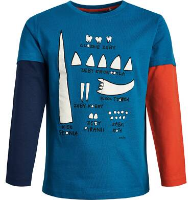 Endo - T-shirt z długim rękawem dla chłopca 3-8 lat C82G074_1