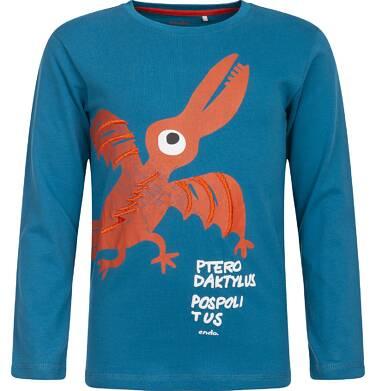 Endo - T-shirt z długim rękawem dla chłopca 3-8 lat C82G075_1
