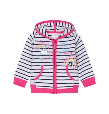 Bluza rozpinana z kapturem dla dziecka 0-3 lata N91C019_1