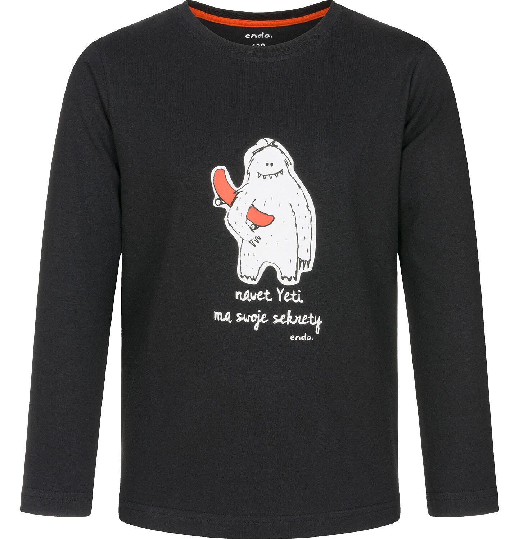 Endo - T-shirt z długim rękawem dla chłopca 3-8 lat C92G128_1