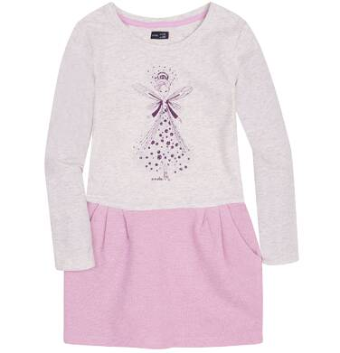 Endo - Sukienka z odcinanym dołem dla dziewczynki 9-13 lat D72H555_1