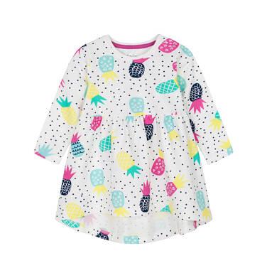 Sukienka z długim rękawem dla dziecka 0-3 lata N91H003_1