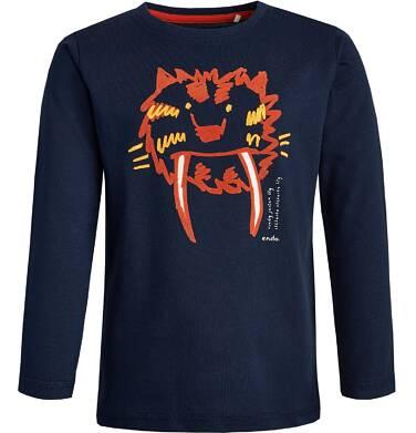 Endo - T-shirt z długim rękawem dla chłopca 3-8 lat C82G077_1