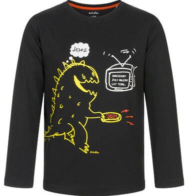 Endo - T-shirt z długim rękawem dla chłopca 9-13 lat C92G629_1