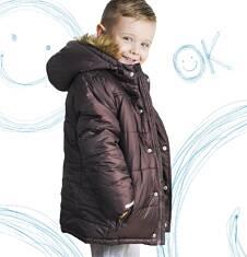 Długa kurtka zimowa dla chłopca 3-8 lat C62A004_2