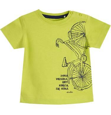 Endo - T-shirt z krótkim rękawem dla dziecka 0-3 lata N81G043_1