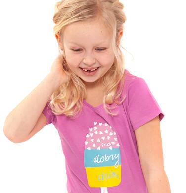 Endo - T-shirt z krótkim rękawem dla dziewczynki 3-8 lat D91G004_2