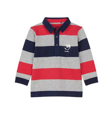 Endo - Koszulka polo z długim rękawem dla dziecka 0-3 lat N91G099_1