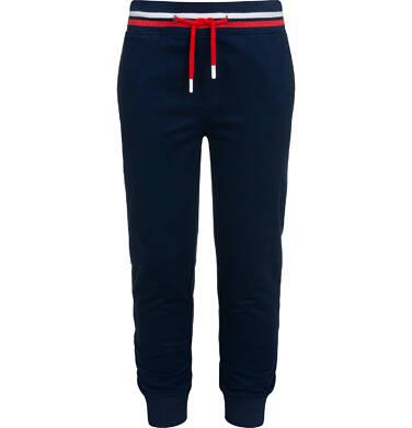 Spodnie dresowe dla chłopca, granatowe, 9-13 lat C05K016_3