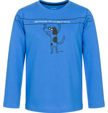 Endo - T-shirt z długim rękawem dla chłopca 3-8 lat C92G130_1